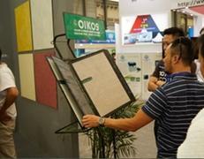 上海国际绿色建筑材涂料展召开,欧意科思艺术漆…