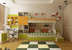 七彩祥云:儿童房并不只是一个房间那么简单