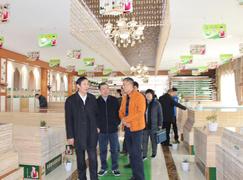 国家发改委领导一行考察香港康居宝贝运营中心