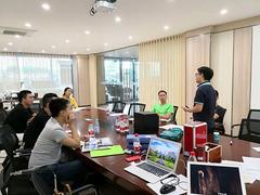 加强品牌建设,倡导企业文化理念,汉邦木业开启品牌推广培训