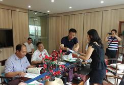 江门市科技局到香港汉邦进行调研考察