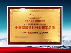"""又传喜讯啦!海南博鳌: 雪宝荣获""""中国家居建材行业领军永乐娱乐在线"""""""