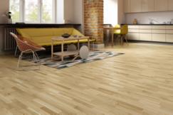大自然三层实木地板:欧洲风情 健康出发