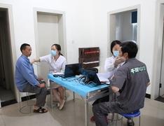 以人为本 注重生活质量:千川员工年度体检进行…
