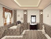 卫浴洁具室内装修设计