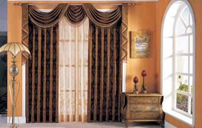 窗幔款式和安装方法
