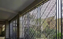 中式格栅窗的材料选择