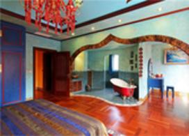 多种色彩混搭风格别墅装修效果图