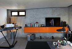 一个单身男人的精彩公寓装修效果图