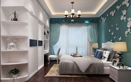定制卧室<font color=#FF0000>书柜</font> 让卧室侵染书卷气息