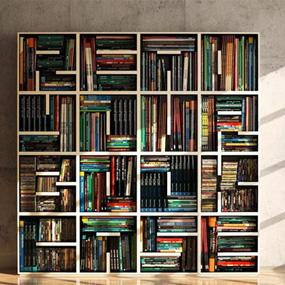 立式小书柜图片大全,节省空间新方案