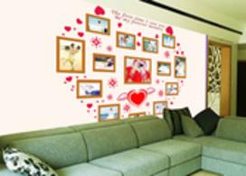 向家表达爱意,沙发背景墙图片效果图