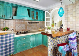 10个厨房吧台装修效果图片,让你爱上厨房