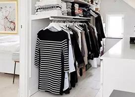 10款卧室衣柜收纳布置图
