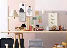小清新来袭 小书房工作区装修设计图