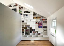 Loft阁楼楼梯家居设计 现代小户型的个性