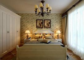 11款田园大衣柜效果图 浪漫卧室装修案例
