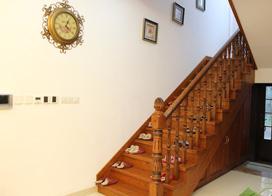 8款高大上的实木楼梯图片