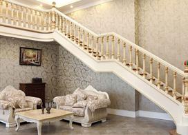 深受消费者喜爱的9款实木楼梯图片