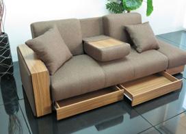 10款小户型设计妙用沙发床图片
