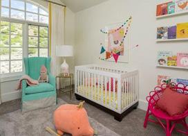 8款阁楼婴儿房装修图片 唯美童趣屋