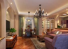 12款欧式风格客厅装修效果图