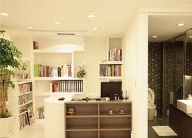 80平米两房一厅装修效果图