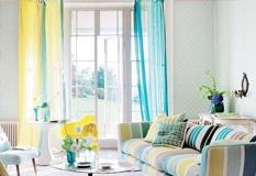 11款装饰用透明窗帘客厅窗帘效果图