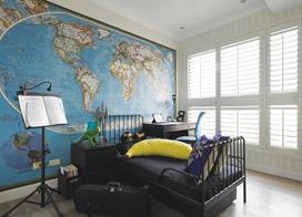 90平米北欧风情三室两厅装修效果图,低调奢华的家百看不厌