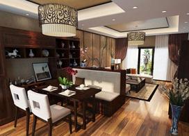 中式家居风格客厅装修效果图