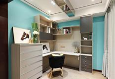106平米两房一厅现代简约装修风格样板房