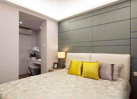 120平现代简约风格三房两厅装修样板房