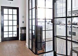 10款玻璃铁框门装修效果图