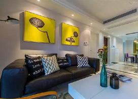 139平米现代风格三室两厅两卫装修效果图