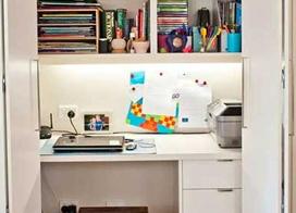 10款衣柜小书房装修效果图