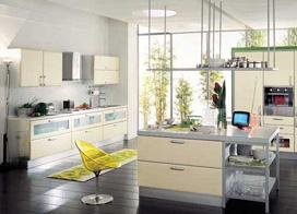 10款现代风开放式厨房装修效果图片