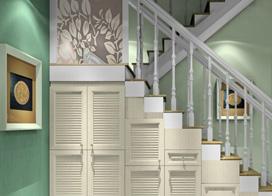 9张楼梯下的储物空间装修设计效果图