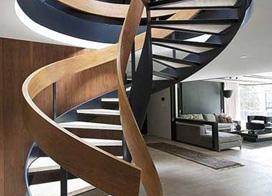 10款旋转楼梯设计布置图