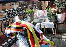 10个休闲阳台花园装修效果图