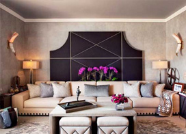 背后的色彩世界,10款沙发背景墙效果图