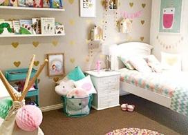儿童的乐园,10个甜美儿童房装修图