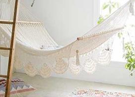 10款简约休闲的室内吊床实景图