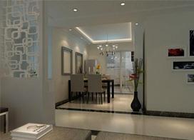 140平米现代简约风格三室两厅装修效果图