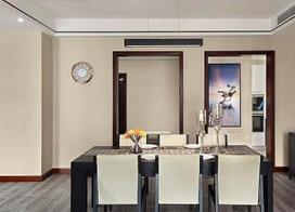 110平米简约风格三室一厅装修效果图