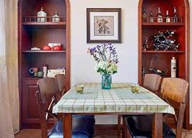 120平米美式乡村风格两居室装修效果图片