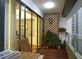 16款阳台花园装修效果图