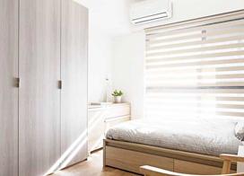 120平米简约风混搭设计三室两厅装修效果图