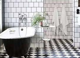 10款北欧风卫生间瓷砖效果图图片