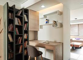 玲珑雅致简约风 现代三室两厅装修效果图