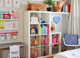 11款儿童房玩具收纳效果图片